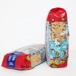 пакет макарон со стикером