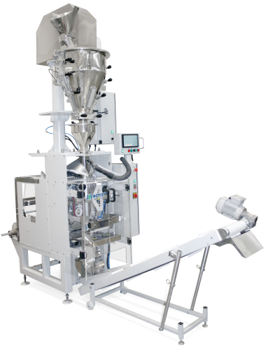 МДУ-НОТИС-06М-ПЭ-600-МФДШ-В-ДП-ДЛС с отводящим конвейером
