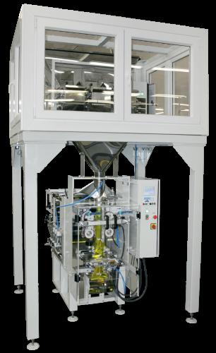 С опцией «Саркофаг», система заполнения газом